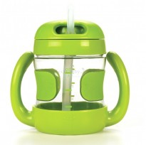 Oxo Tot - Straw Cup Removable Handle 7oz *Green*